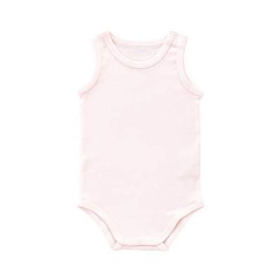 赤ちゃんの城 ミニオール 80 ピンク ランニングオール インナー 肌着 フライス 日本製 オールシーズン