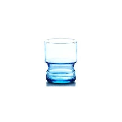 HS(口部物理強化グラス)バブ CB-02152-BL 9タンブラー サイズ:Ф72×H87・M72 245ml【6個入】(返品交換・ばら売り不可)
