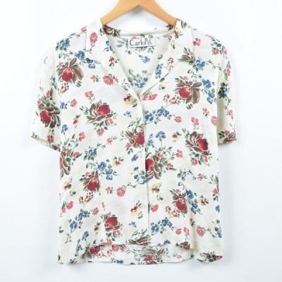 carlopik 半袖 オープンカラーシャツ レディースM /eaa036910