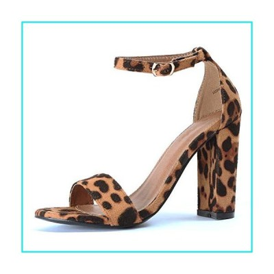 Guilty Shoes - Shirley-1 Leopard Suede, 8【並行輸入品】