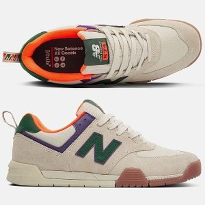 NEW BALANCE ニューバランス All Coasts AM574TWT [サイズ:29cm (US11) Dワイズ] [カラー:タン×グリーン] 送料無料 靴