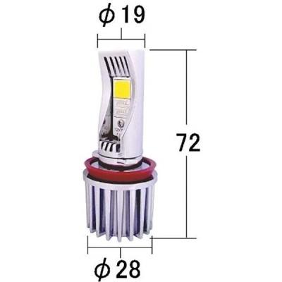 ULTIMATE YELLOW フォグランプ専用LEDバルブ 品番 P216KY