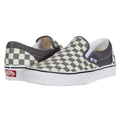 ヴァンズ Vans レディース スリッポン・フラット シューズ・靴 Classic Slip-On(TM) Pewter/True White