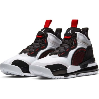 ナイキ NIKE メンズ スニーカー ハイカット シューズ・靴 Jordan Aerospace 720 High Top Sneaker White/Black/Grey/Red