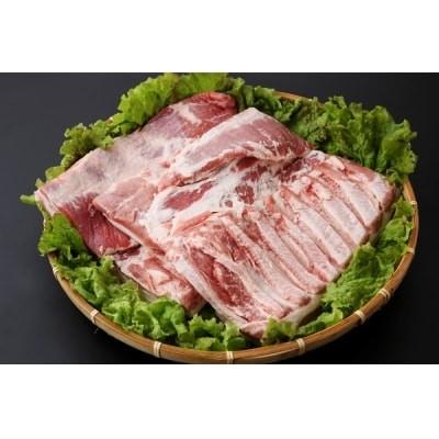 山形県庄内SPF豚最上川ポークバラブロック4kg