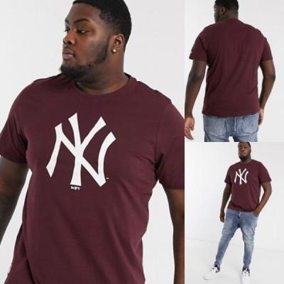 在庫確保!!【New Era】半袖Tシャツ New York Yankees【メンズの大きいサイズ服】ニューヨークヤンキース カジュアル 3L, 4L