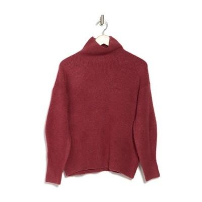 フレンチコネクション レディース ニット&セーター アウター Flossy Ribbed Turtleneck Sweater RHUBARB
