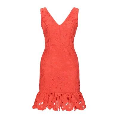 MINUETO ミニワンピース&ドレス オレンジ S ポリエステル 100% ミニワンピース&ドレス