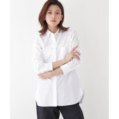 【ドレステリア】 Thomas Maisonブロードシャツ レディース ホワイト 38(M) DRESSTERIOR