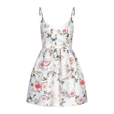 DIVE DIVINE ミニワンピース&ドレス ホワイト 40 ポリエステル 100% ミニワンピース&ドレス