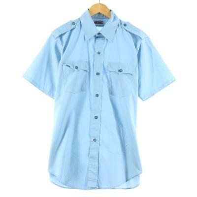 ビッグマック BIGMAC エポレット付き 半袖 ワークシャツ メンズM /eaa139000