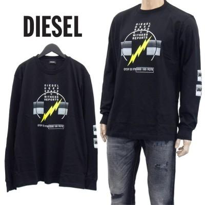 ディーゼル DIESEL ロンT 長袖 Tシャツ S4EG-0GATD T-JUST-LS-J3-900
