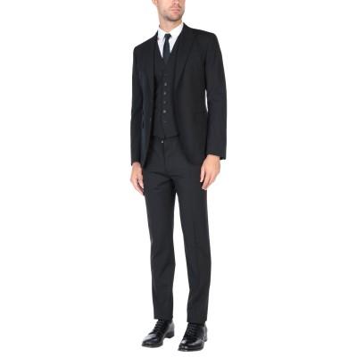 ディースクエアード DSQUARED2 スーツ ブラック 48 バージンウール 95% / ポリウレタン 5% スーツ