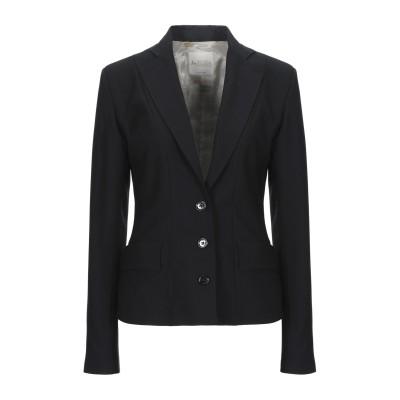 BOTTEGA MARTINESE テーラードジャケット ブラック 40 ポリエステル 100% テーラードジャケット