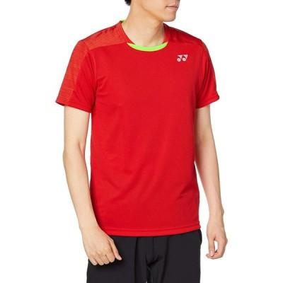 ヨネックス ユニゲームシャツ(フィットスタイル) (10365) 色 : サンセットレッド サイズ : S