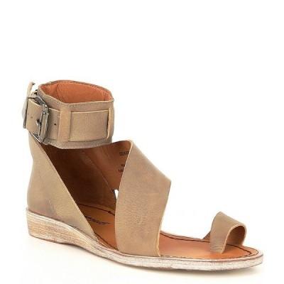 フリーピープル レディース サンダル シューズ Vale Leather Asymmetrical Toe Loop Boot Sandals Charcoal