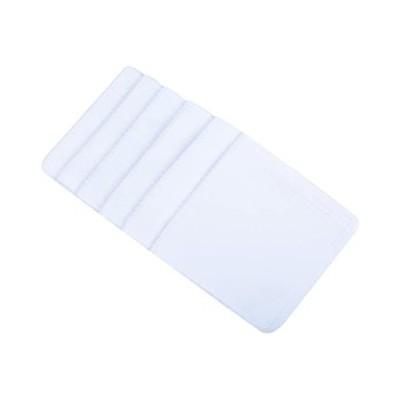 SINLAND 吸水 マイクロファイバー 食器 拭き ワッフルタオル ふきん ディッシュクロス(ホワイト 6枚)(ホワイト 33cmx33cm)