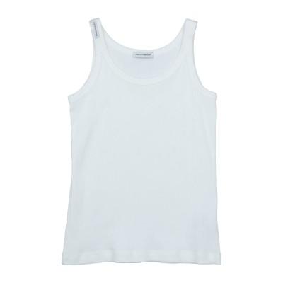 ドルチェ & ガッバーナ DOLCE & GABBANA T シャツ ホワイト 7 コットン 100% T シャツ