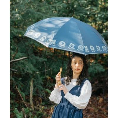 COMMON WARE / ALCEDO:晴雨兼用長傘 プランター 総柄 UVカット WOMEN ファッション雑貨 > 長傘