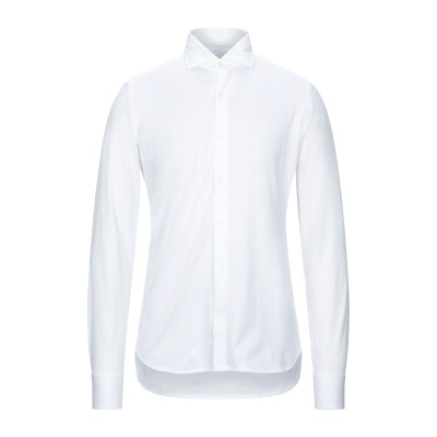SONRISA シャツ ホワイト XXL コットン 100% シャツ