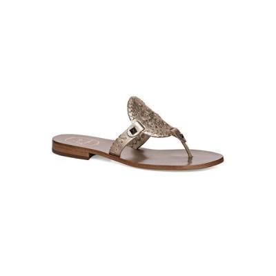 ジャックロジャース Jack Rogers レディース サンダル・ミュール シューズ・靴 Georgica Flat Sandals Platinum