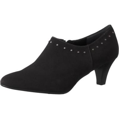 [エイゾー] ブーツ 25129 ブラックスエード 22 cm E