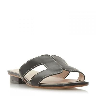 デューン Dune London レディース サンダル・ミュール シューズ・靴 Loupe Smart Slider Shoes Black