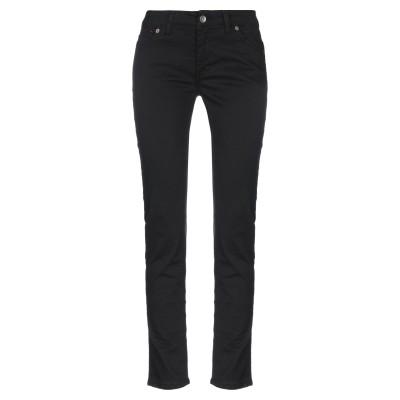 NICEBRAND パンツ ブラック 38 コットン 97% / ポリウレタン 3% パンツ