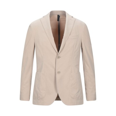 MONTEDORO テーラードジャケット ベージュ 46 ポリエステル 100% テーラードジャケット
