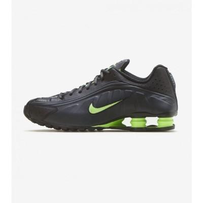 ナイキ Nike メンズ ランニング・ウォーキング シューズ・靴 shox r4 Charcoal/Lime