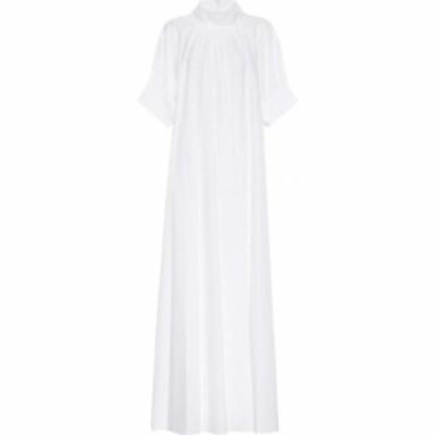 ザ ロウ The Row レディース ワンピース ワンピース・ドレス alba cotton dress White