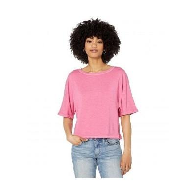BB Dakota ビービーダコタ レディース 女性用 ファッション Tシャツ Top of Your Game Top - Light Fuchsia