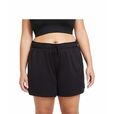 ナイキ ハーフ&ショーツ ボトムス レディース Dry Attack Shorts (Sizes 1X-3X) Black/Black/White