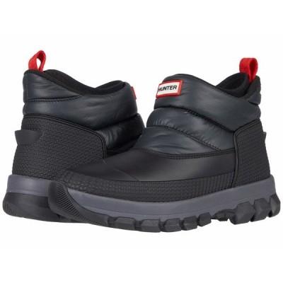 ハンター ブーツ&レインブーツ シューズ メンズ Original Insulated Snow Ankle Boots Black