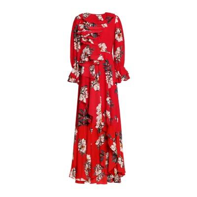 MIKAEL AGHAL ロングワンピース&ドレス レッド 0 ポリエステル 100% ロングワンピース&ドレス