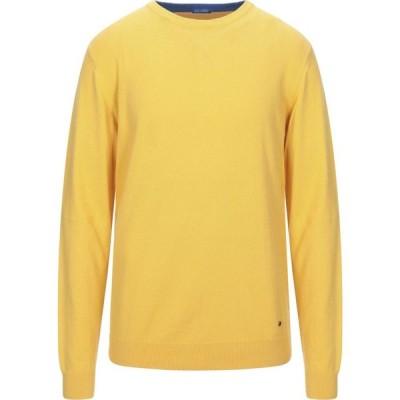 インマイフード IN MY HOOD メンズ ニット・セーター トップス Sweater Yellow
