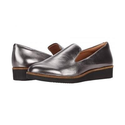 SoftWalk ソフトウォーク レディース 女性用 シューズ 靴 ローファー ボートシューズ Westport - Pewter Leather