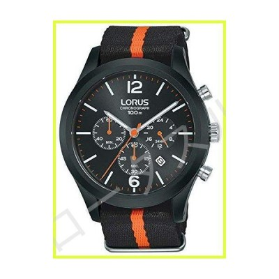 Lorus Sport Man Mens Analog Quartz Watch with Nylon Bracelet RT347HX9 並行輸入品
