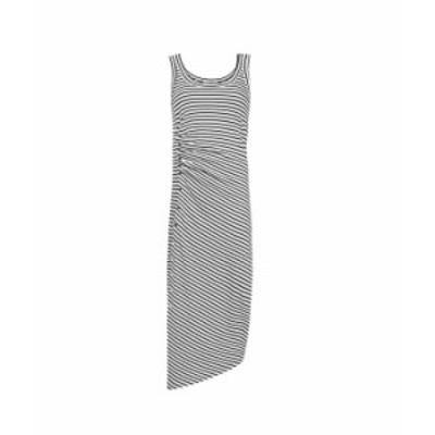 オールセインツ レディース ワンピース トップス Hatti Sleeveless Stripe Dress Ecru/Black
