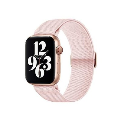 AMANECER Stretchy Nylon Watch Bands Compatible with Apple Watch Series 6/5/