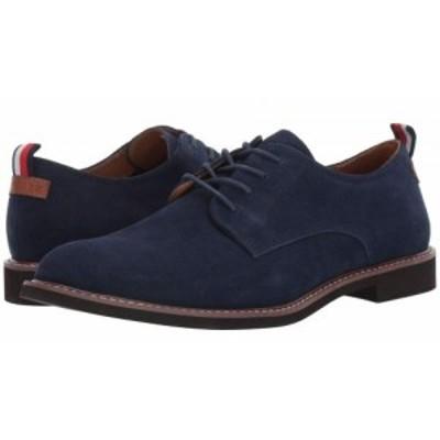 Tommy Hilfiger トミー ヒルフィガー メンズ 男性用 シューズ 靴 オックスフォード 紳士靴 通勤靴 Garson Dark Blue【送料無料】