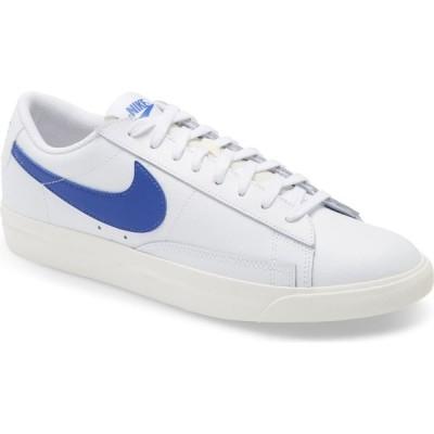 ナイキ NIKE メンズ スニーカー ローカット シューズ・靴 Blazer Low Leather Sneaker White/Astronomy Blue/Sail