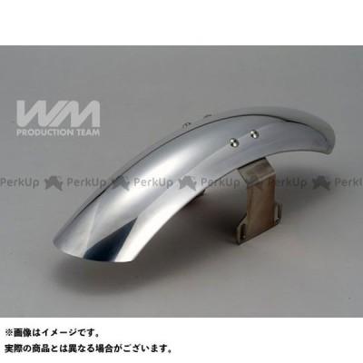 【無料雑誌付き】ダブルエム ST250 ミドルショート アルミ フロントフェンダー WM