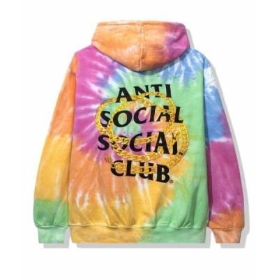パーカー AntiSocialSocialClub/アンチソーシャルソーシャルクラブ/Good Rainbow Tiedye Hoodie/グラフィッ