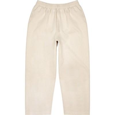 バレンシアガ Balenciaga メンズ スウェット・ジャージ ボトムス・パンツ Stone oversized cotton sweatpants Grey