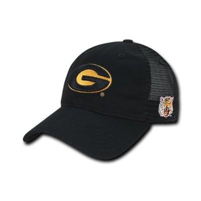 ユニセックス スポーツリーグ アメリカ大学スポーツ NCAA Grambling State Tigers U Curved Bill Relaxed Trucker Mesh Caps Hats