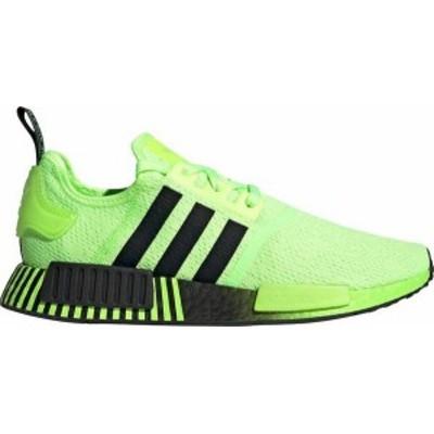アディダス メンズ スニーカー シューズ adidas Originals Men's NMD_R1 Shoes Green/Black