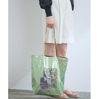 ViS / 【A4対応】【WEB限定】【Casselini】メタリックフォトトートバッグ WOMEN バッグ > トートバッグ