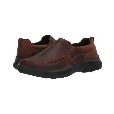 SKECHERS スケッチャーズ メンズ 男性用 シューズ 靴 スニーカー 運動靴 Relaxed Fit Expended - Seveno - Dark Brown