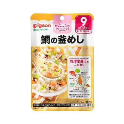 ピジョン株式会社 ベビーフード 食育レシピ 鯛の釜めし(80g) <管理栄養士の食育ステップレシピ>